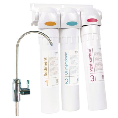 Natures Spring 1THE under sink 3-stage Water Purifier Filter System