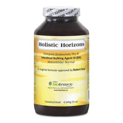 Robert Gray Intestinal Bulking Agent III (MBN) – food supplement