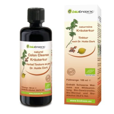 Parasite Cleanse Herbal Tincture by Dr. Hulda Clark, 100 ml