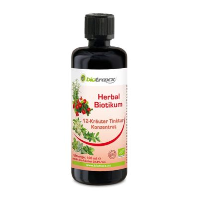 Biotraxx Herbal Antibiotics 12 Herbs, herbal concentrate tincture 100ml
