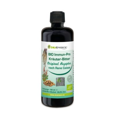 Biotraxx CAISSE Tincture, made to the original recipe from Rene Caisse, 100 ml