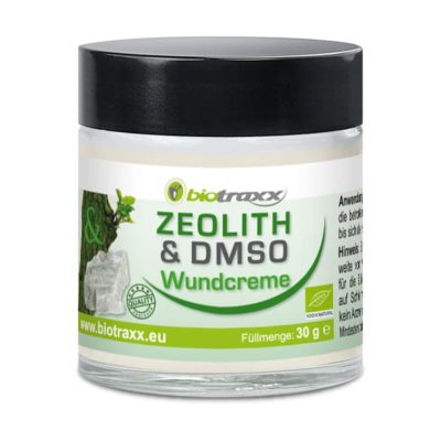 Biotraxx Zeolite-DMSO Sore Cream 30g