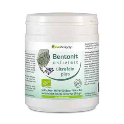 Bentonite activated  ultrafine plus mineral soil, 200g