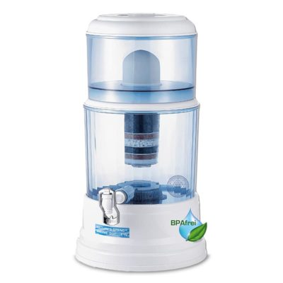 "Natures Spring ""Meine Quelle"" IV Gravity Water Filtration System 20 L * second-rate quality *"