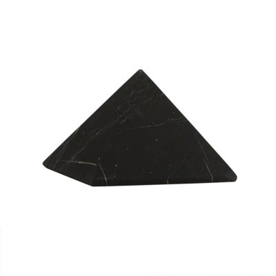 Shungite Pyramide S hand made: 5×5 cm, Shungite from Russia