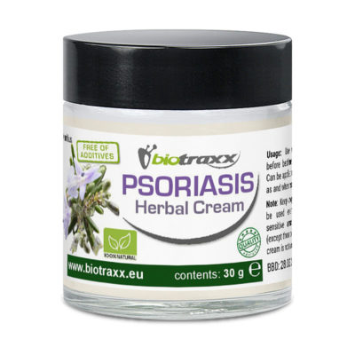 Biotraxx Psoriasis Herbal Cream, 30g