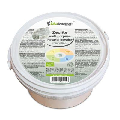 Biotraxx natural Zeolite Mineral Clay  microfine quality, 1600g