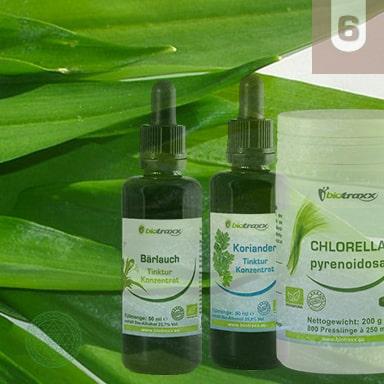 Herbal Heavy Metal Detoxification
