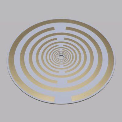 Raumvital Golden Plated Energy Disc 170mm